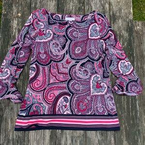Beautiful Paisley print blouse
